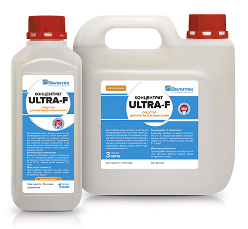 Ultra cleaning agents for ultrasonic baths